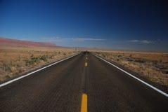 Arizona road. One of Arozona's highway with amazing landscape Stock Images