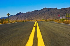 Arizona road Stock Photography