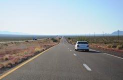 Arizona road. The highway through Arizona desert land Royalty Free Stock Image