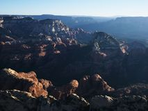 Arizona rock formations. Stock Image
