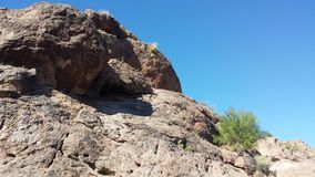 Arizona rocks. Landscapes Royalty Free Stock Image