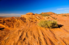 Arizona rocky striated Landscape Stock Photo