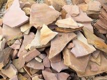 Arizona rosa flagstone stock images