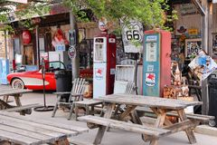 66 arizona route Arkivfoton