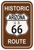 Arizona Route 66 histórico Foto de archivo libre de regalías