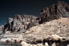 arizona rzeki sól zdjęcie royalty free