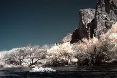arizona rzeki sól Zdjęcie Stock