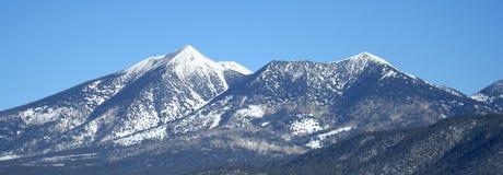Arizona's San Francisco Peaks in Winter Royalty Free Stock Photos