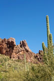 Arizona's Superstition Mountains Stock Photo