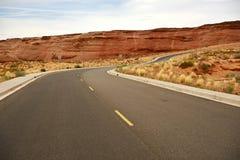 Arizona Sandstone Road Royalty Free Stock Image