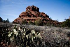 Arizona scenery. View of Bell Rock, a famous Sedona landmark in Arizona, America royalty free stock photos