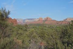 arizona scenisk sedona Arkivfoto