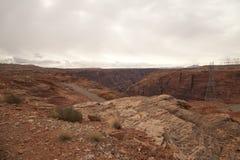 Arizona-Schlucht Lizenzfreie Stockfotos