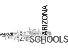 Arizona Schools Above Average For Less Money Word Cloud. ARIZONA SCHOOLS ABOVE AVERAGE FOR LESS MONEY TEXT WORD CLOUD CONCEPT Stock Photography