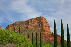 arizona sedona Arkivbild