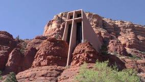 Arizona, Sedona, A zoom in on the Chapel of the Holy Cross in east Sedona