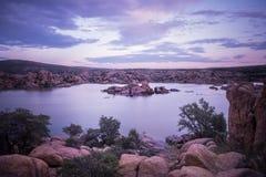 Arizona sjö Royaltyfri Bild
