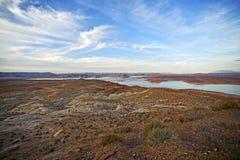 Arizona sjö Powell Arkivfoto