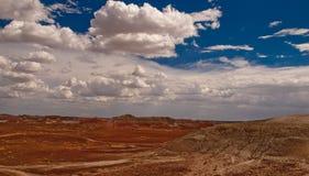 Arizona sky and land royalty free stock photo