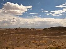 Arizona sky and land stock image