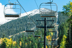 Arizona Snowbowl in Flagstaff. Stock Photos