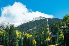 Arizona Snowbowl in Flagstaff. Royalty Free Stock Photography