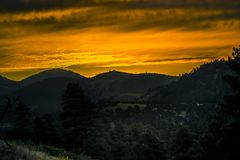 Arizona soluppgång Royaltyfria Bilder