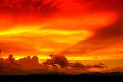 Arizona-Sonnenuntergang lizenzfreie stockbilder