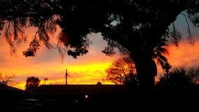 Arizona-Sonnenuntergang lizenzfreies stockbild
