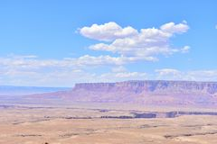 Desert in arizona. Arizona is a southwestern U.S. state. is best know the Grand Canyon, Lake Powell, Horseshoe Bend, Flagstaff, Page, National Park, Scottsdale Royalty Free Stock Photography