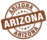 Arizona stämpel royaltyfri illustrationer