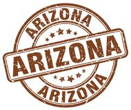 Arizona stämpel stock illustrationer