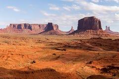 Arizona-/Staat Utah-Linie Stockbilder