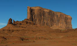 Arizona-/Staat Utah-Linie stockfoto