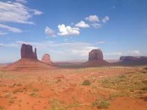 Arizona-/Staat Utah-Linie Lizenzfreies Stockfoto