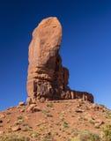 Arizona-/Staat Utah-Linie Stockfotografie