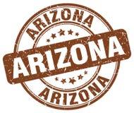 Arizona stamp. Arizona round grunge stamp isolated on white background. Arizona