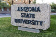 Arizona stanu uniwersytet obrazy royalty free