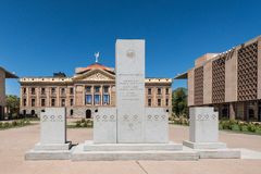 Arizona State Capitol grounds Royalty Free Stock Photos