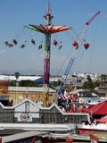 Arizona State Fair 2014 - Epic Arial Rides Royalty Free Stock Photo