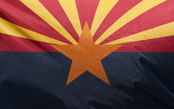 Arizona State Flag Royalty Free Stock Image