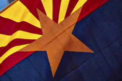 Arizona State Flag Royalty Free Stock Photography