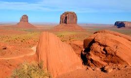 Arizona/statliga Utah fodrar Arkivbilder