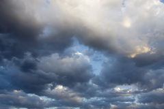 Arizona Storm Skies. Clouds over Phoenix, Arizona, are a rare occurance as the area usually has clear blue skies Royalty Free Stock Images