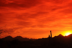 Arizona Sunset Stock Photos