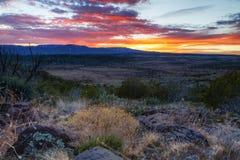 Arizona Sunset Stock Photography