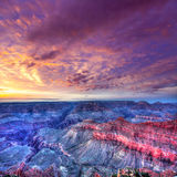 Arizona sunset Grand Canyon National Park Mother Point US. Arizona sunset Grand Canyon National Park Mother Point in USA royalty free stock image