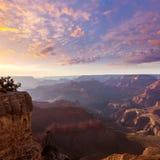 Arizona sunset Grand Canyon National Park Yavapai Point Royalty Free Stock Photo