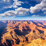 Arizona sunset Grand Canyon National Park Yavapai Point Stock Photography