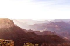 Arizona sunset Grand Canyon National Park Yavapai Point. USA Stock Image